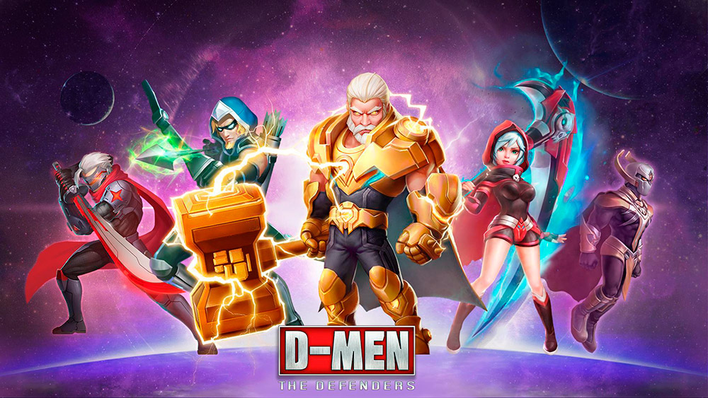 Portada del juego D-Men: The Defenders
