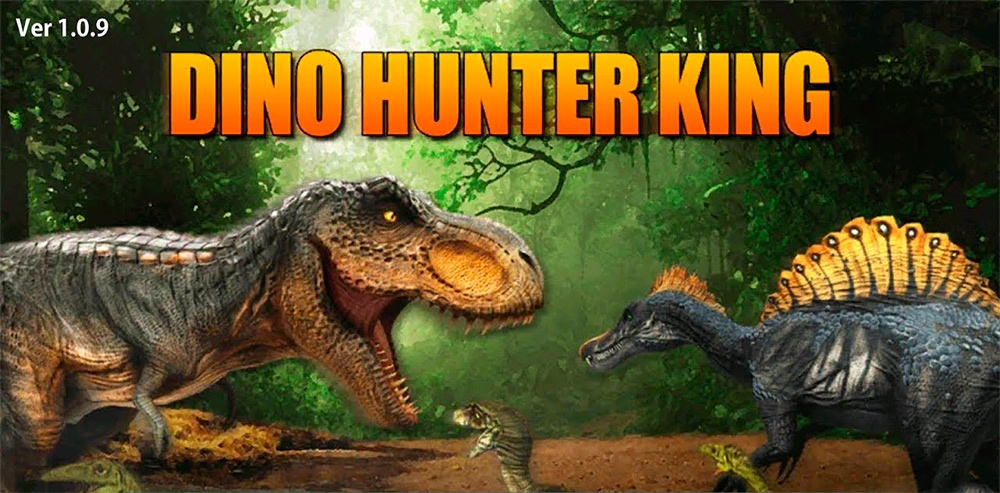 Portada del juego Dino Hunter King