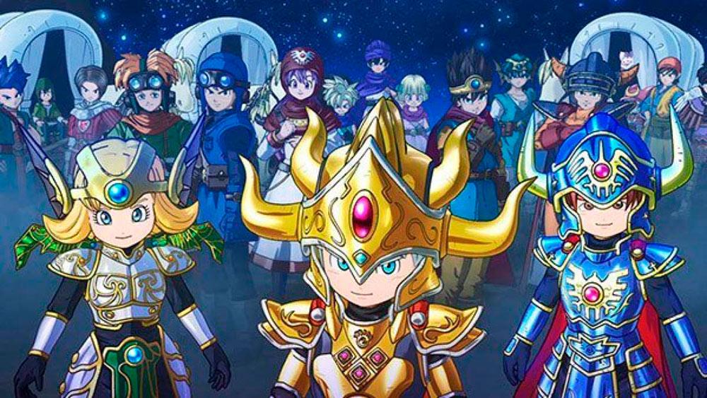 Portada del juego Dragon Quest of the Stars