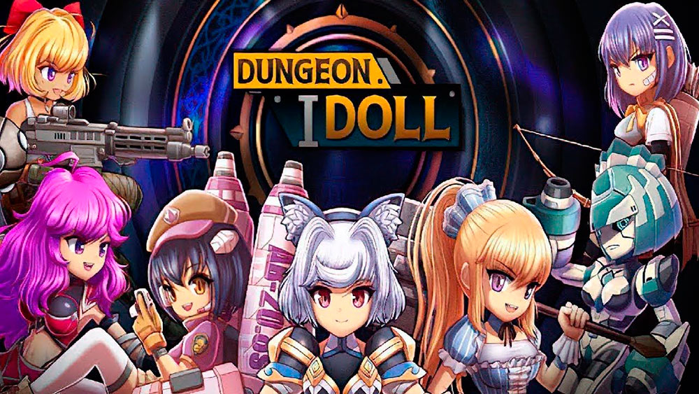 Portada del juego Dungeon iDoll