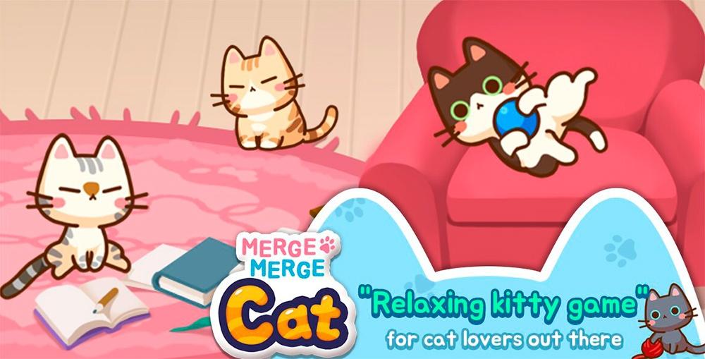 Portada del juego Merge Merge Cat
