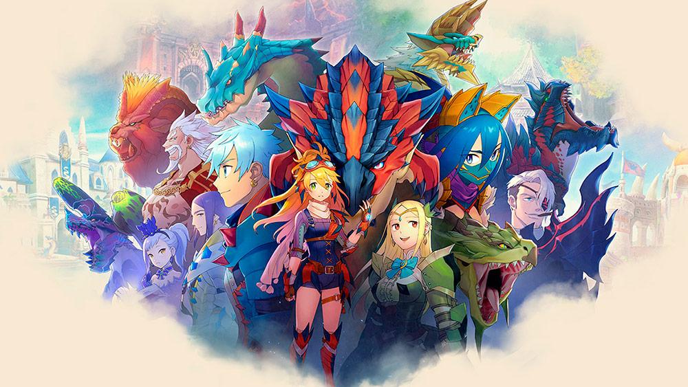 Portada del juego Monster Hunter Riders