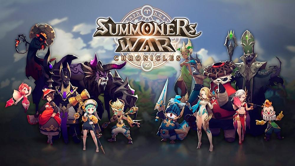 Portada del juego Summoners War: Chronicle