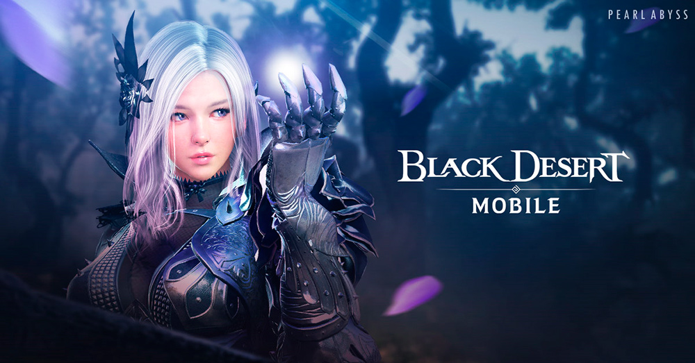 Portada del Dark Knight en Black Desert Mobile