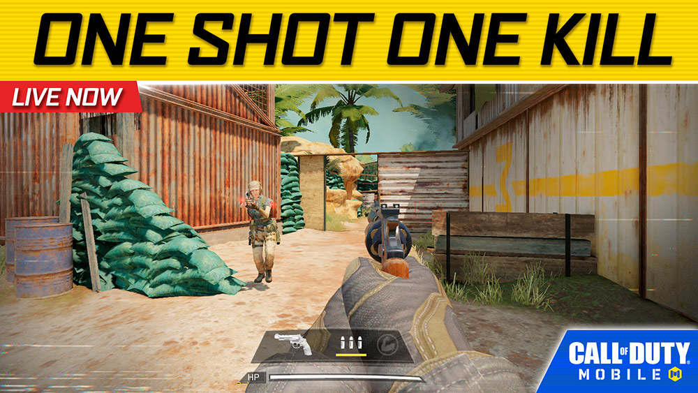 Call of Duty Mobile One Shot One Kill