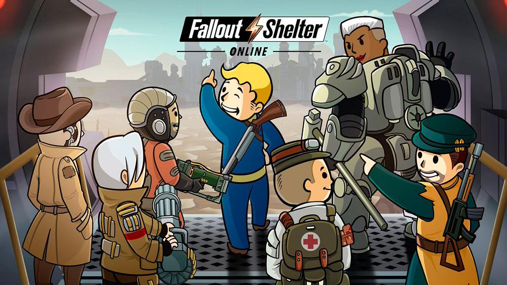 Portada del juego Fallout Shelter Online