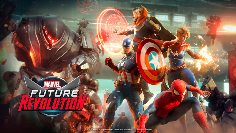Portada del juego Marvel Future Revolution