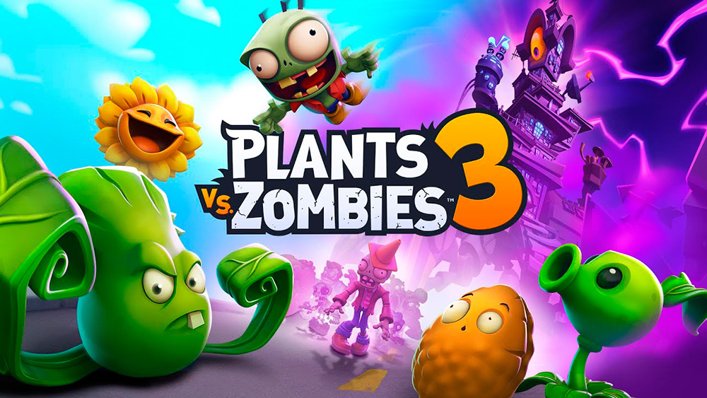 Portada del juego Plants vs Zombies 3