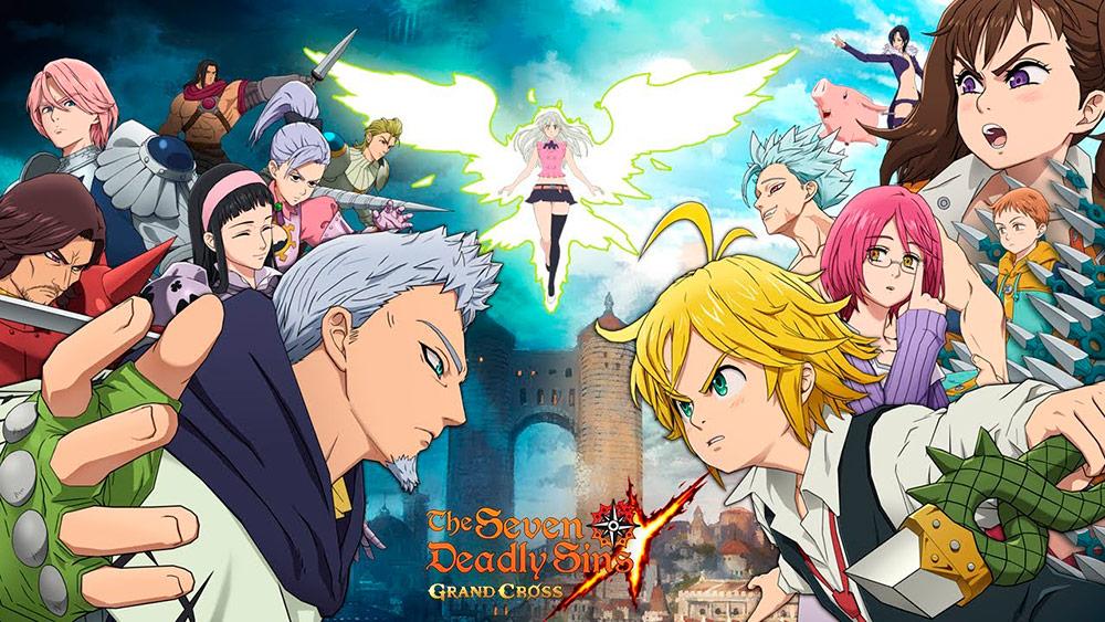 Portada del juego The Seven Deadly Sins: Grand Cross