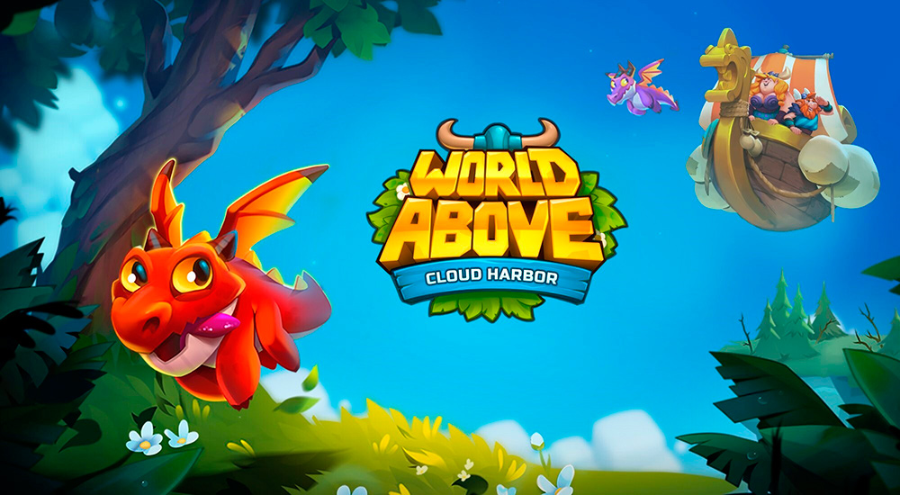 Portada del juego World Above: Cloud Harbor