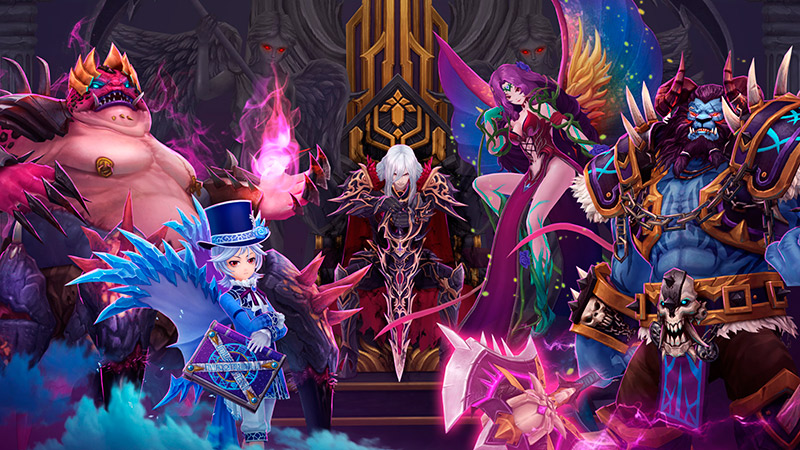 portada del juego Aura Kingdom 2