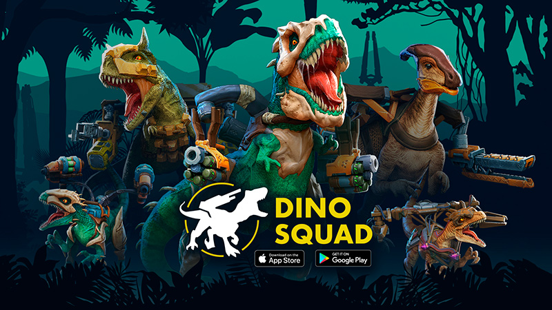 Portada del juego Dino Squad