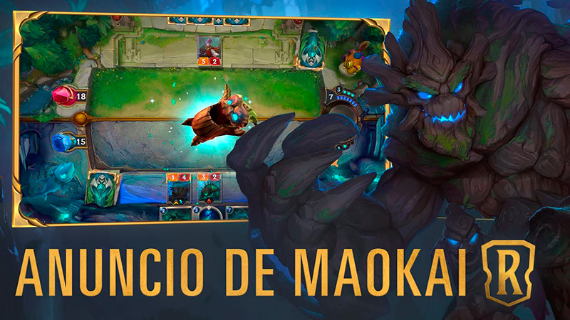 Maokai de Legends of Runeterra