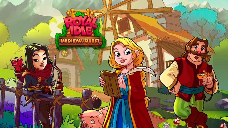 Portada del juego Royal Idle: Medieval Quest