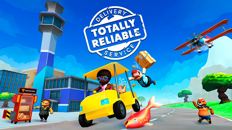 Portada del juego Totally Reliable Delivery Service