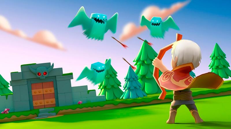 Portada del juego Archero Android iOS