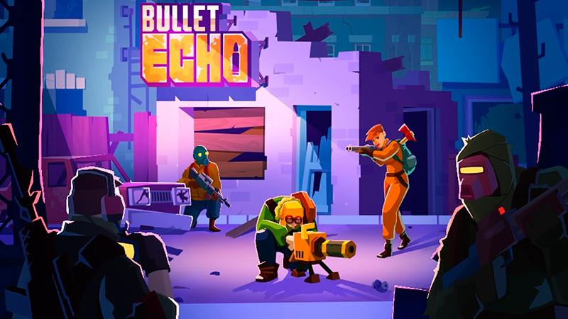 Portada del juego Bullet Echo Android iOS