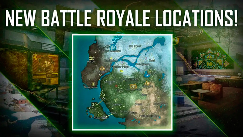 Nuevas zonas en el Battle Royale de Call of Duty Mobile