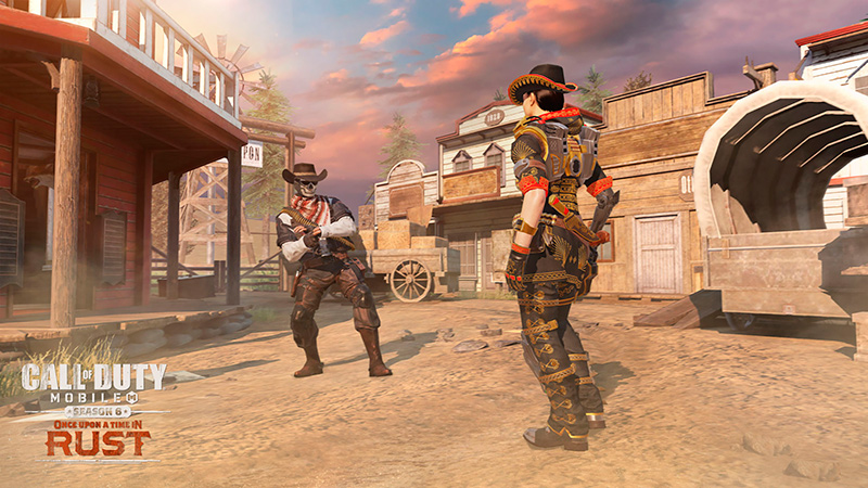 Mapa Saloon en Call of Duty Mobile