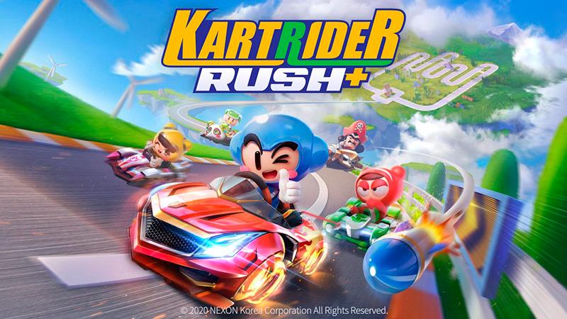 Portada del juego KartRider Rush+ ios y android