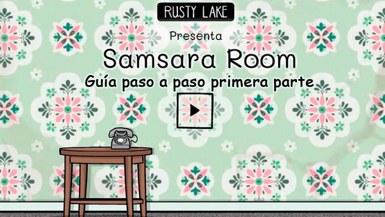 Portada guía primera parte de Samsara Room