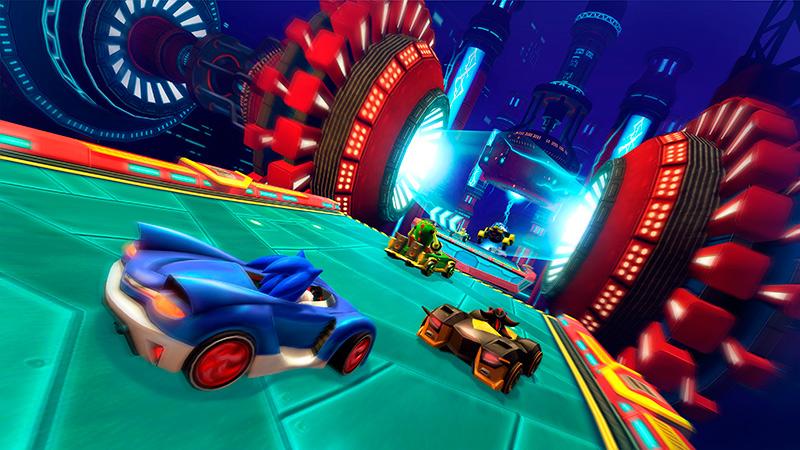 Final Fortress en Sonic Racing