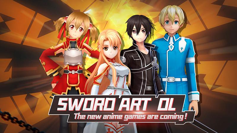 Portada del juego Sword Art Online Games