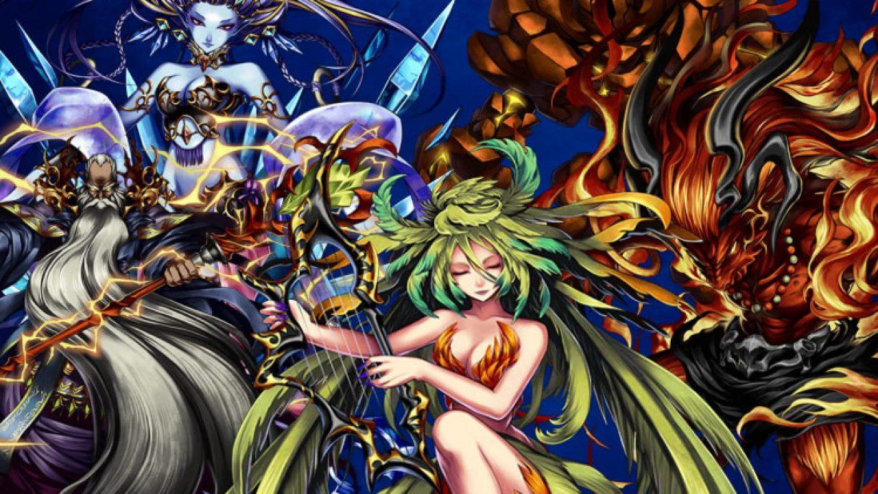War of the Visions: Final Fantasy Brave Exvius invocaciones sirena, ifrit, ramuh y shiva.