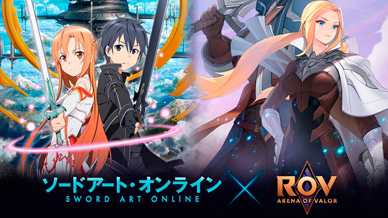 Sword Art Online en Arena of Valor
