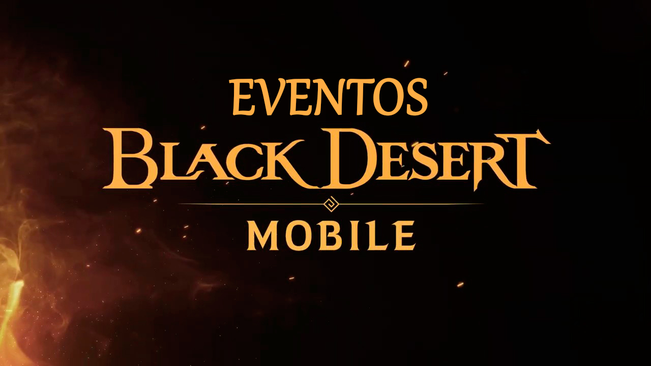 Eventos en Black Desert Mobile