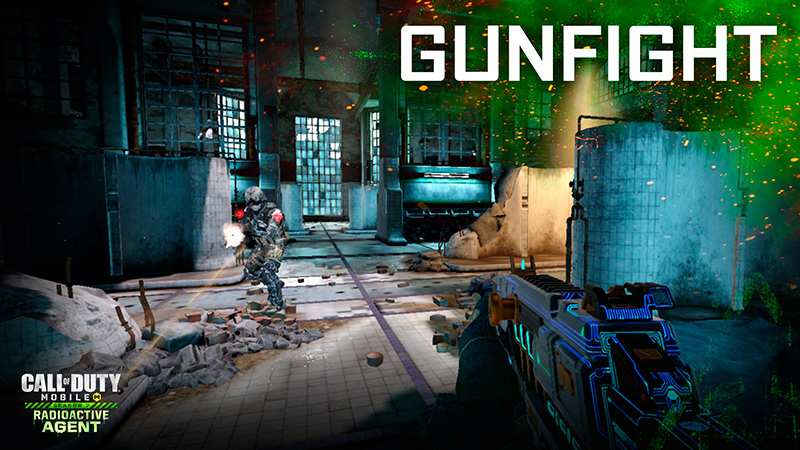 Mapa Gulag junto al modo de juego Gunfight en Call of Duty Mobile