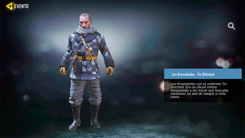Personaje Lev Kravchenko en Call of Duty Mobile