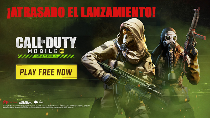 Temporada 7 de Call of Duty Mobile atrasada
