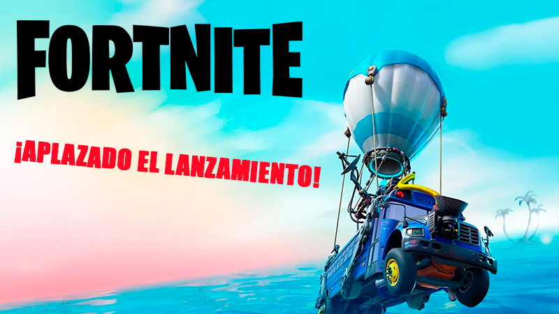 Temporada 3 aplazada en Fortnite