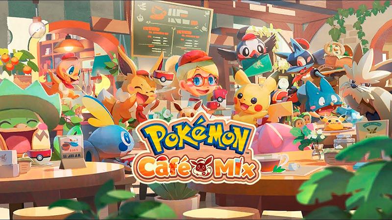 Portada del juego Pokémon Café Mix