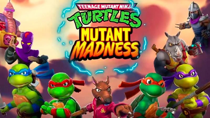 Tortugas Ninja Mutant Madness
