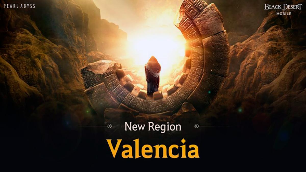 Valencia en Black Desert Mobile