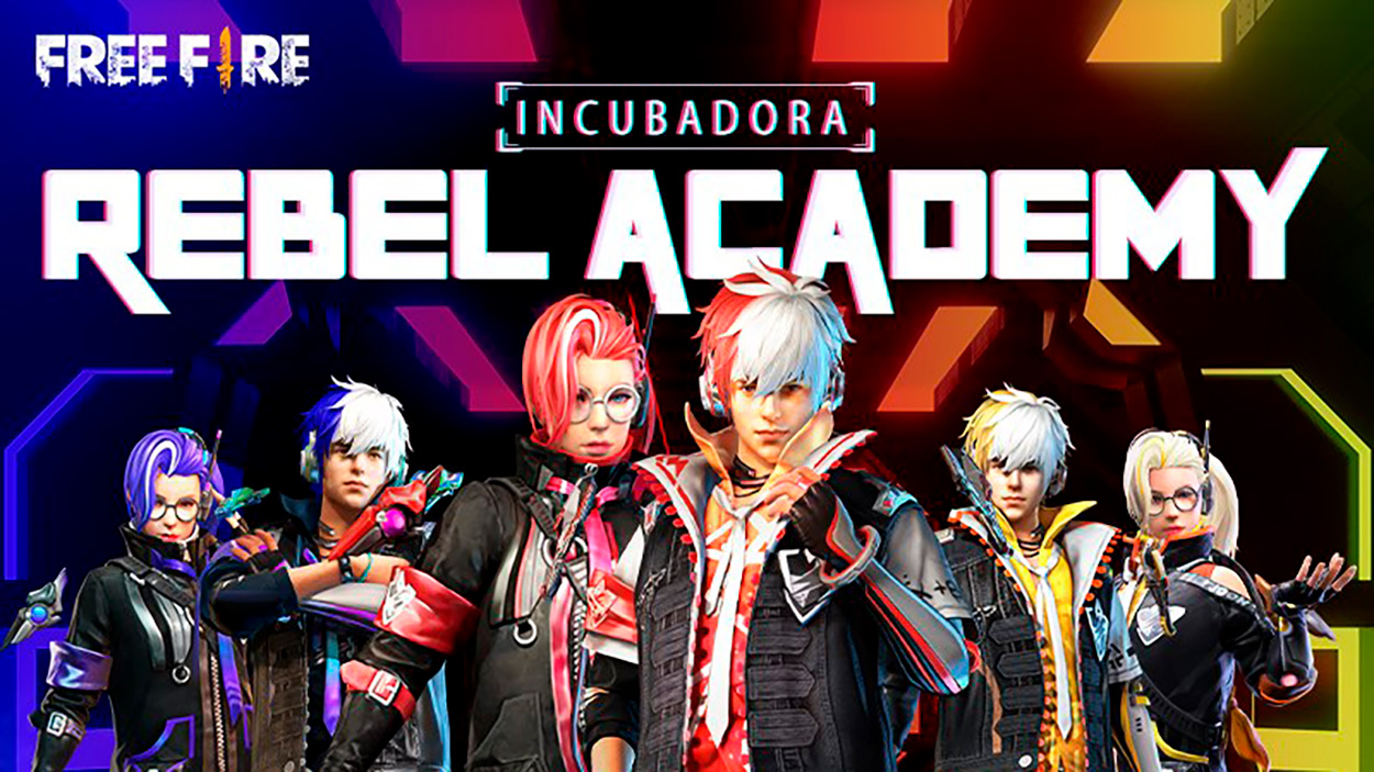 free fire academia rebelde (Rebel Academy)