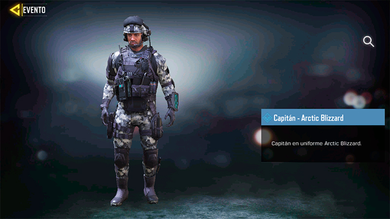 Capitán Arctic Blizzard en Call of Duty Mobile