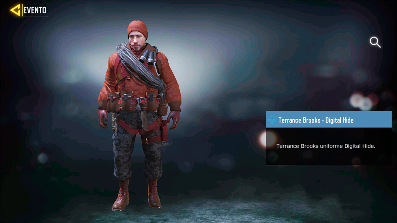 Agente Terrance Brooks Digital Hide en Call of Duty Mobile