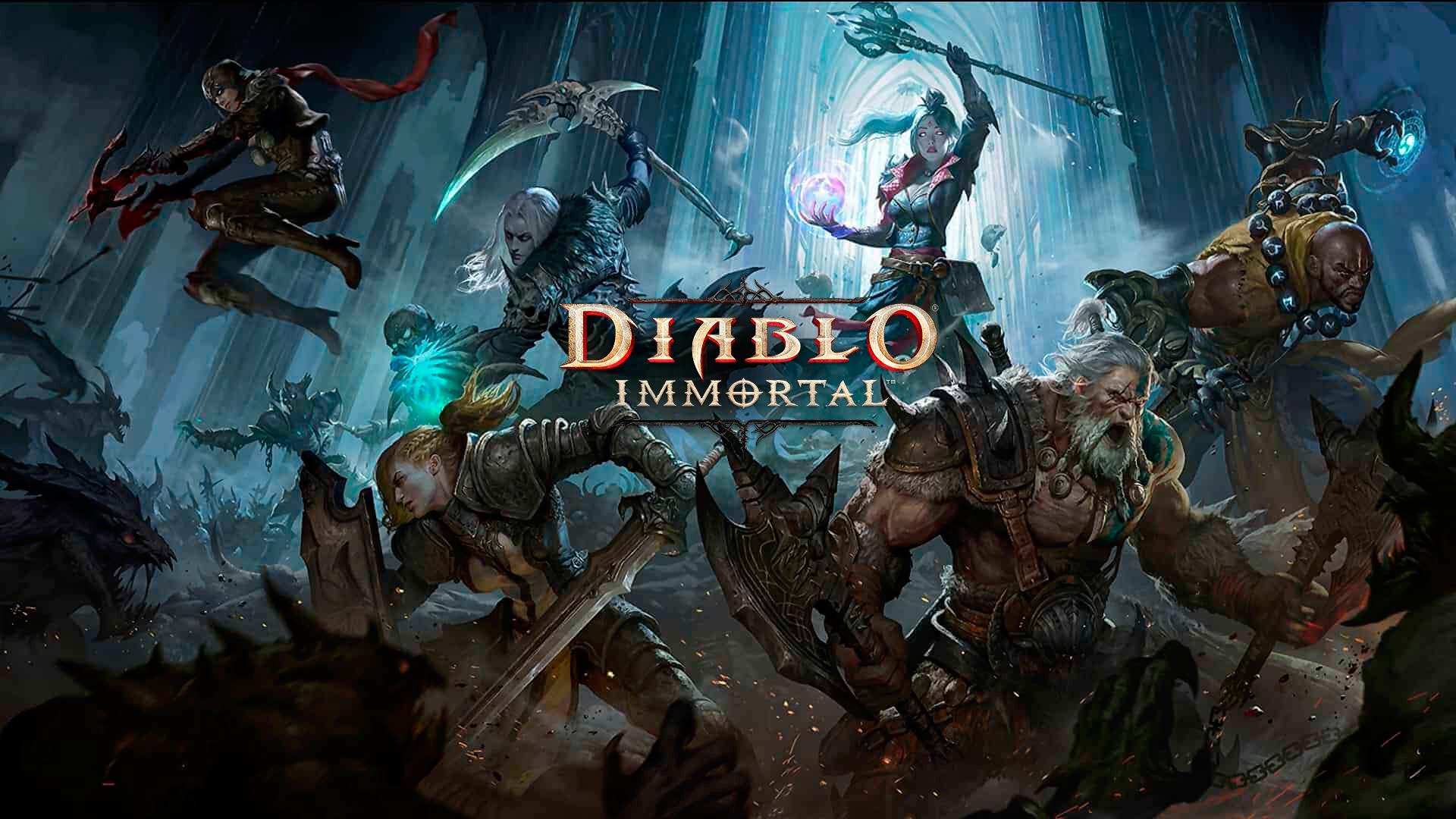 Diablo Immortal Portada