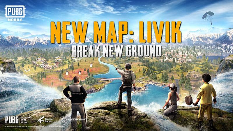 Mapa Livik en PUBG Mobile