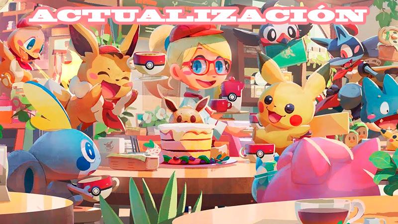 Actualización en Pokémon Café Mix