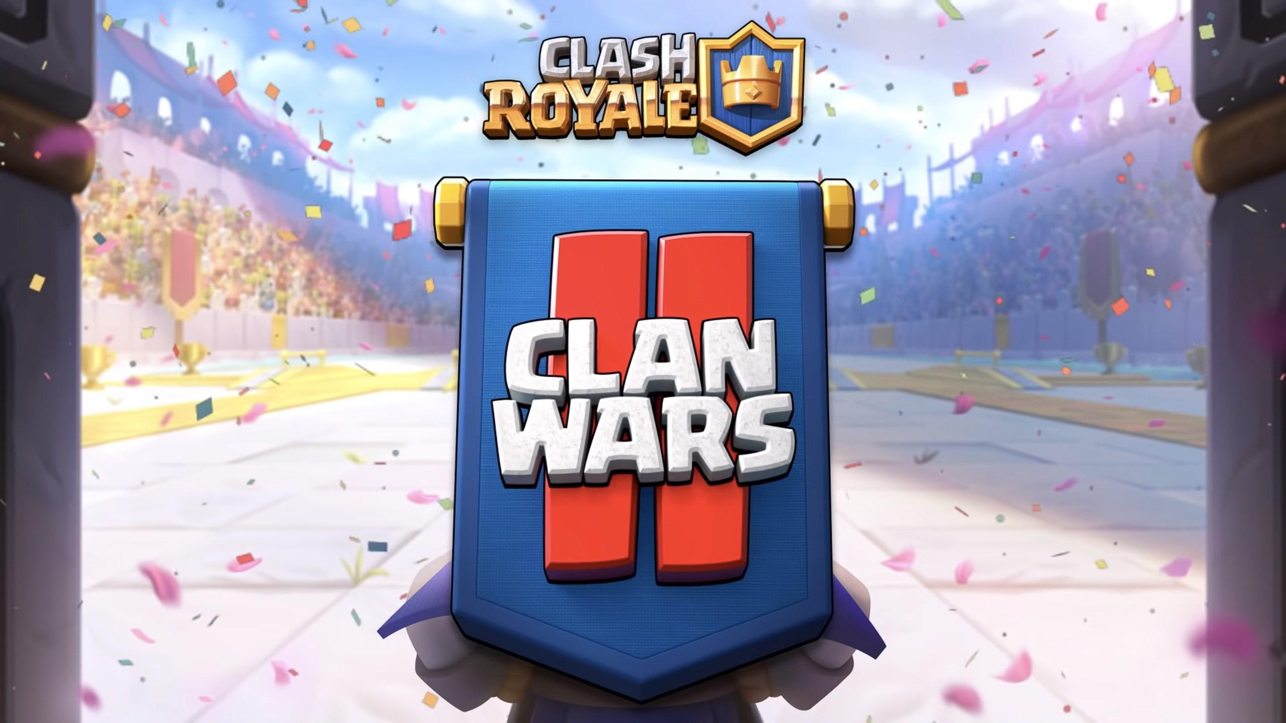 clash royale guerra de clanes II