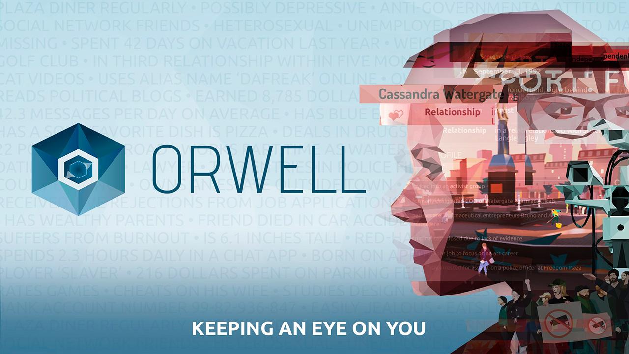 portada orwell keeping an eye on you