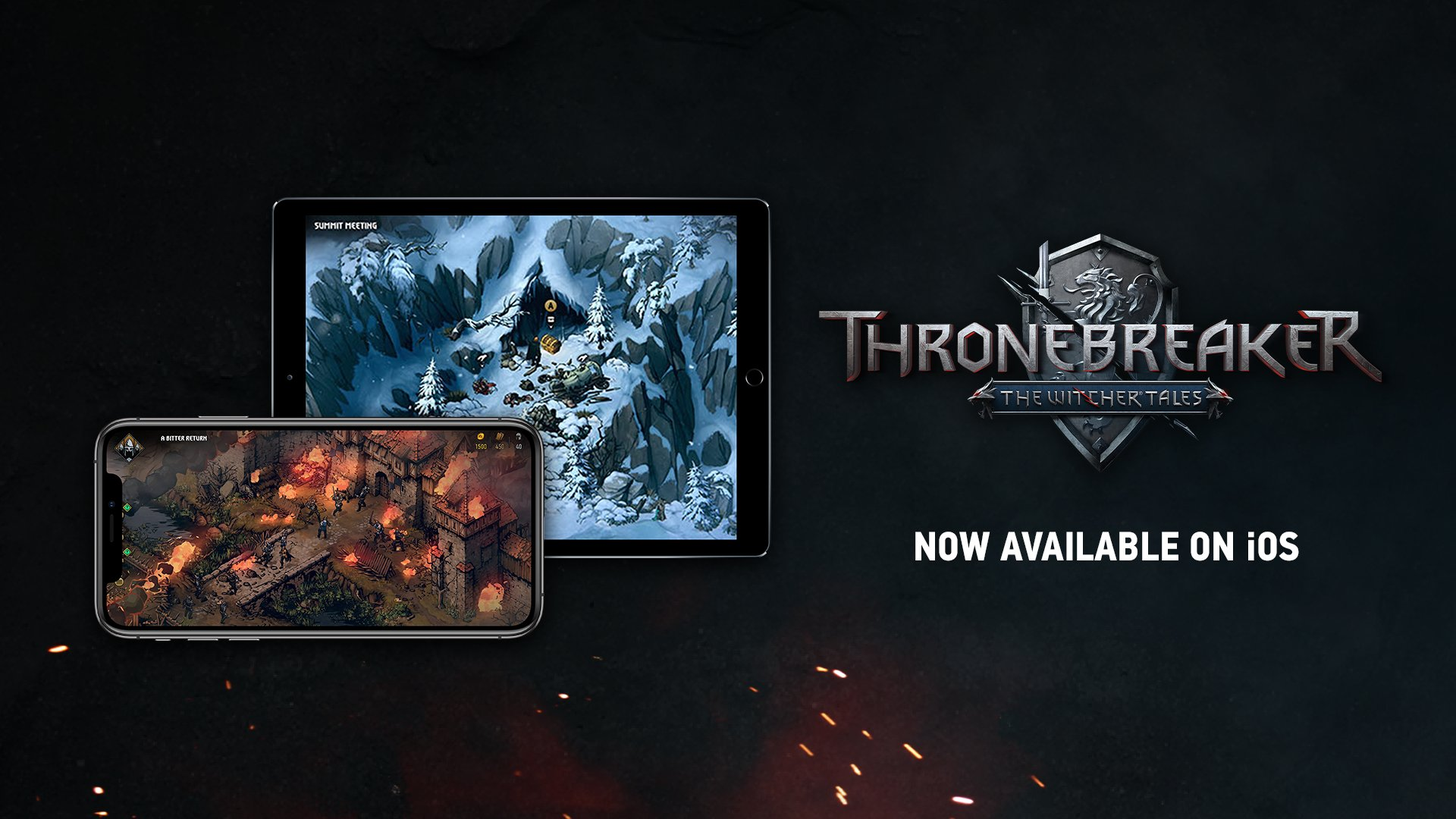 Thronebreaker: the witcher tales disponible para ios
