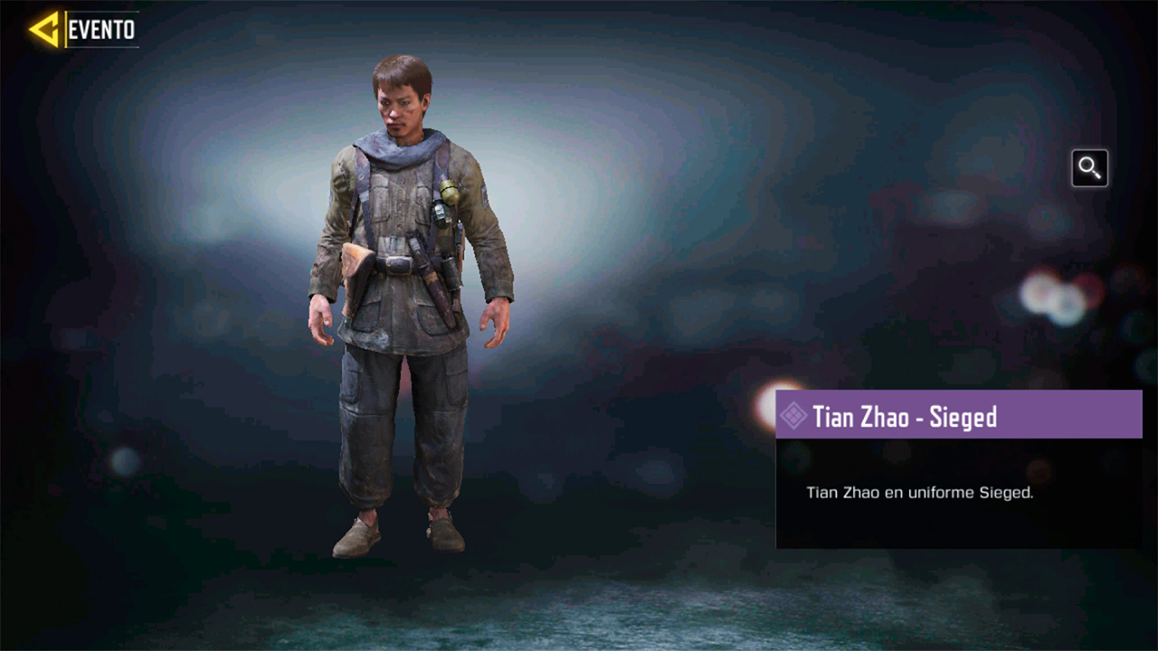 Tian Zhao Sieged en Call of Duty Mobile