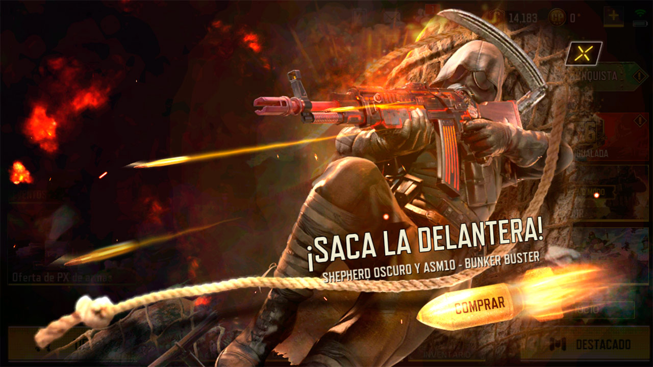 Ruleta Infierno Enlatado en Call of Duty Mobile