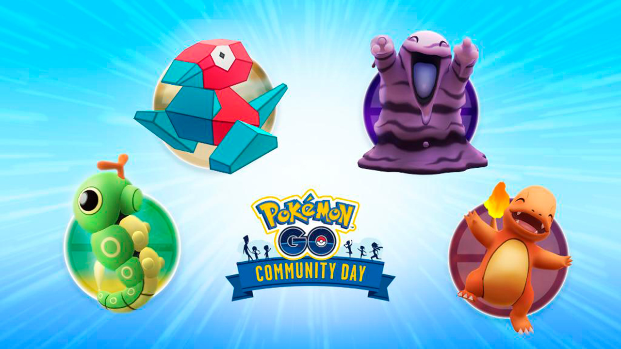 pokémon go votación para el dia de la comunidad de septiembre y octubre