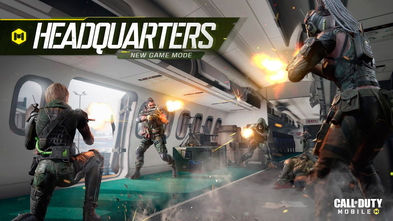 Modo de juego Headquarters en Call of Duty Mobile